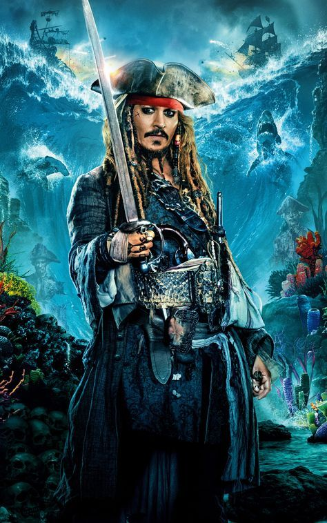Movie Of The Week Pirates Of The Caribbean Dead Men Tell No Tales Mobile Wallpapers 150 Jack Sparrow Tattoos Jack Sparrow Wallpaper Captain Jack Sparrow