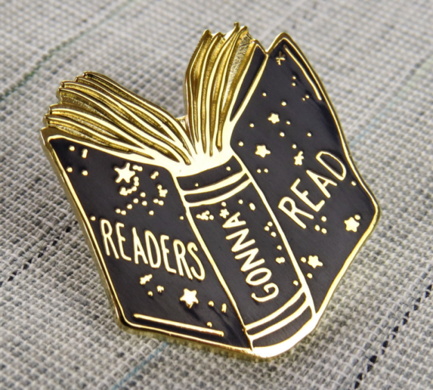 21 Book Pins For Bookworms