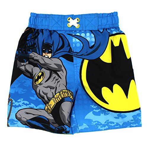 Dc Comics Batman Boys Swim Trunks Swimwear Www Yankeetoybox Com