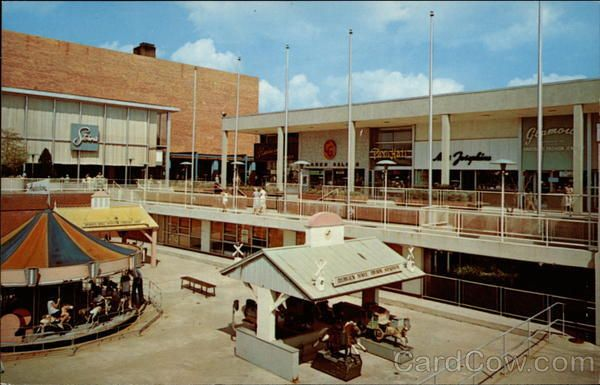 The bergen mall before it was enclosed the children 39 s - Jersey gardens mall movie theater ...