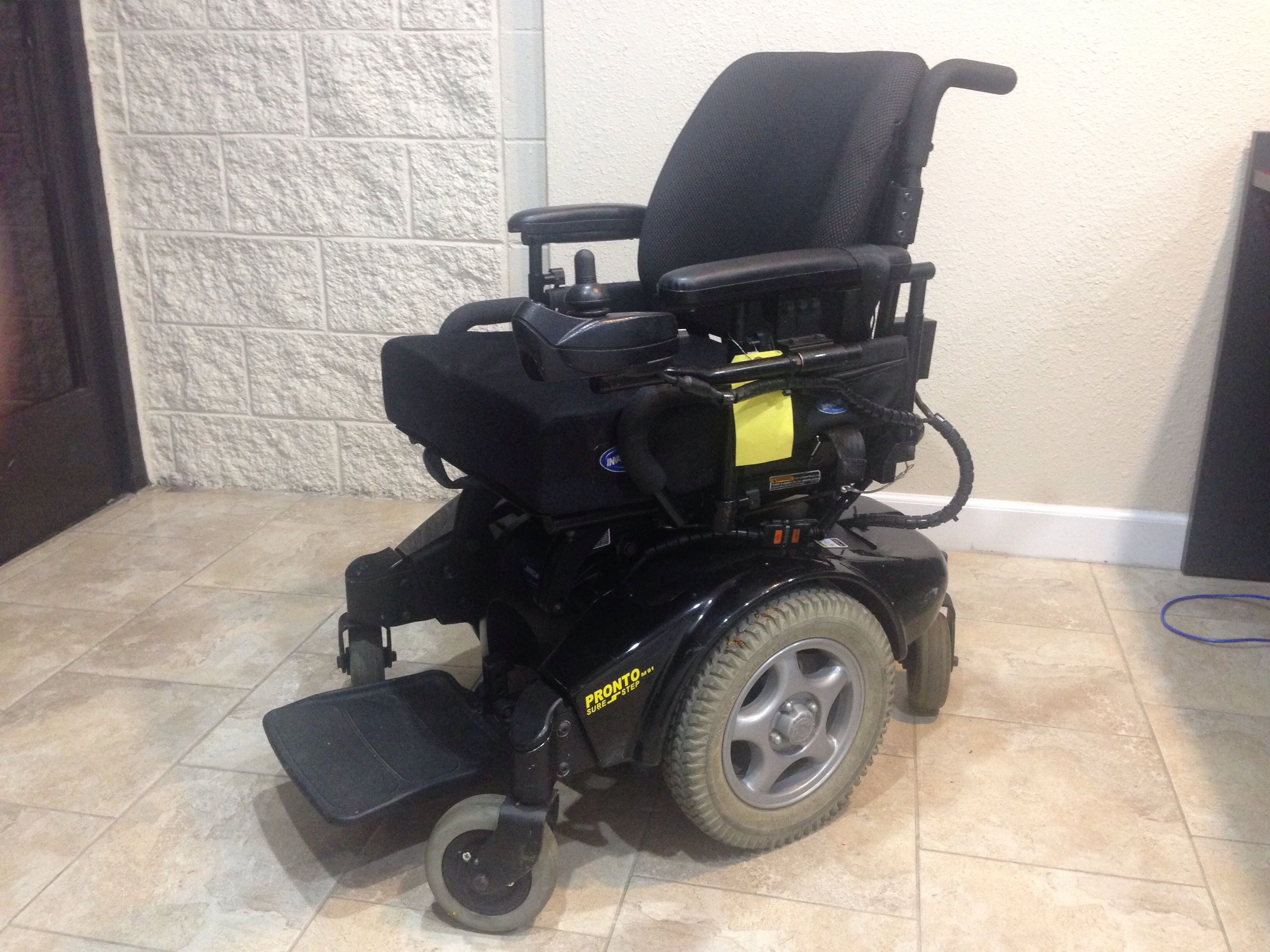 Invacare Pronto M91 Sure Step Power Chair (Used) Power