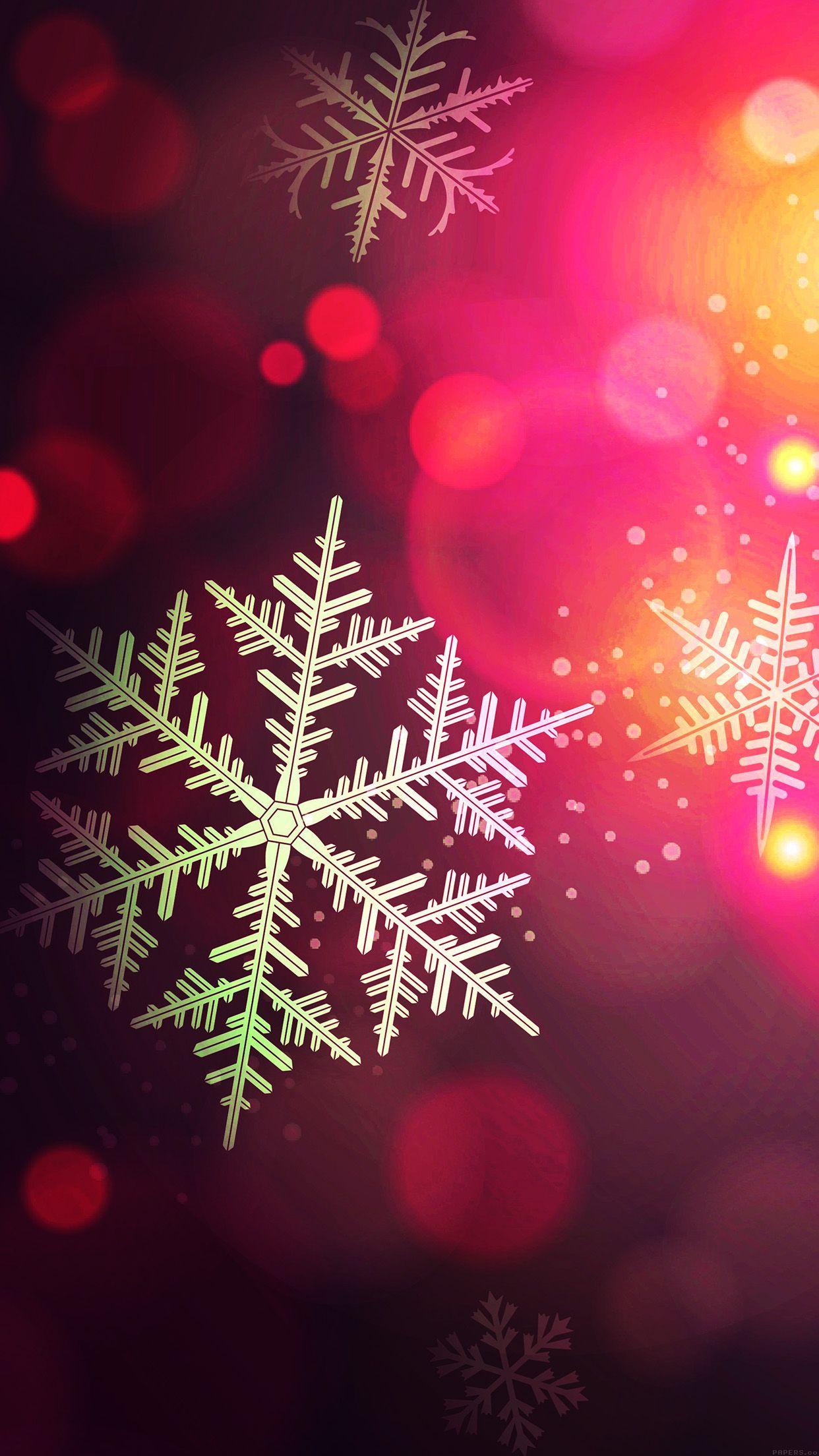 Tap And Get The Free App Holydays Snowflake Pink Bokeh Beautiful Snow Ice Winter Weihnachten Hintergrundbilder Weihnachtshintergrund Hintergrund Weihnachten