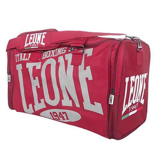 Borsone LEONE EXPLOSION Rosso Borsone sportivo LEONE linea Explosion realizzato in nylon 600D impermeabile. Comodo per trasportare indumenti e protezioni. Studiato per i praticanti di Kick Boxing,  Muhay Thai, MMA, BJJ e sport da combattimento in genere