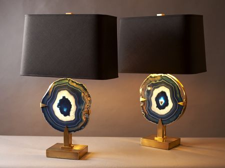Marvelous Agate Lamps More