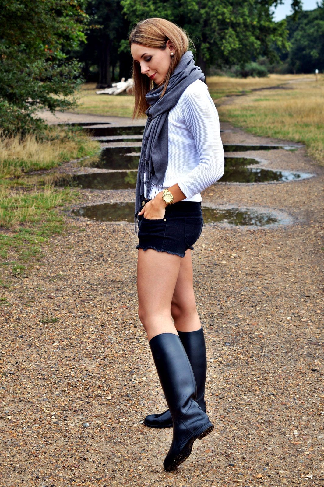 Riding boots made of rubber are a great alternative to the classic ...