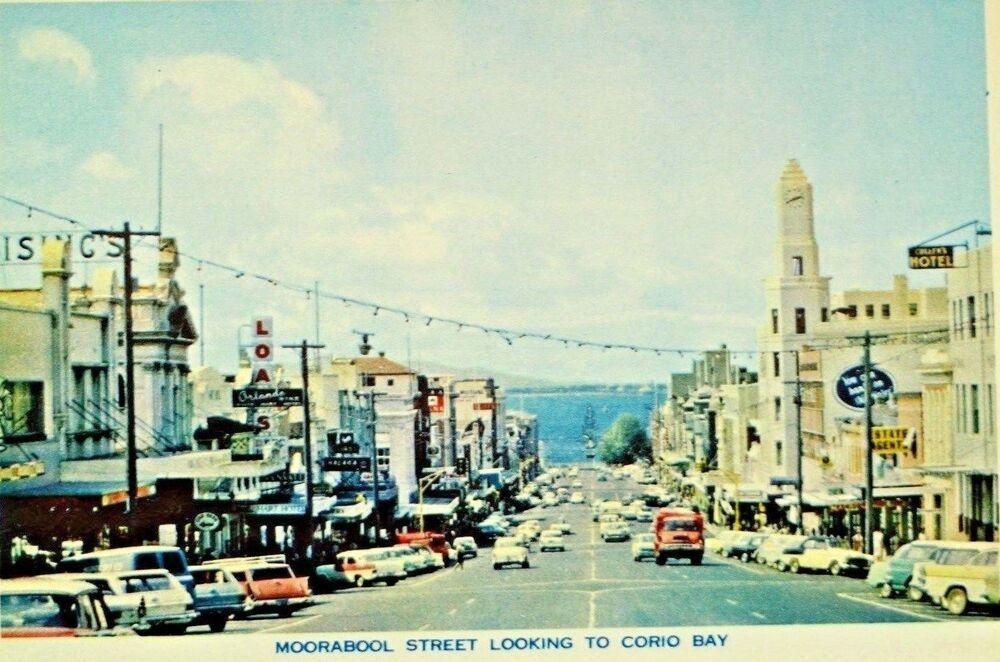 1960s Geelong Victoria 12 Photos Postcards Eastern Beach Moorabool