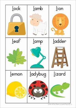 5 letter words beginning with ad phonics letter of the week l ingl 233 s preschool letters 16466