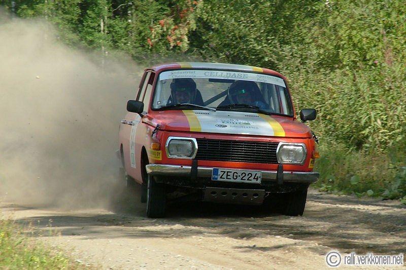 Lahti Historic Rally 11.-12.8.2006 54. Jari Ohrankämmen - Petri Helmikkala, Wartburg 353