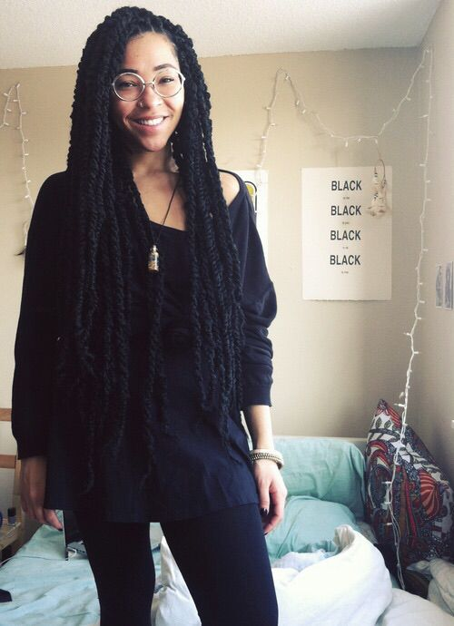 Marley Twists Natural Hair Styles Curly Hair Styles Marley Hair