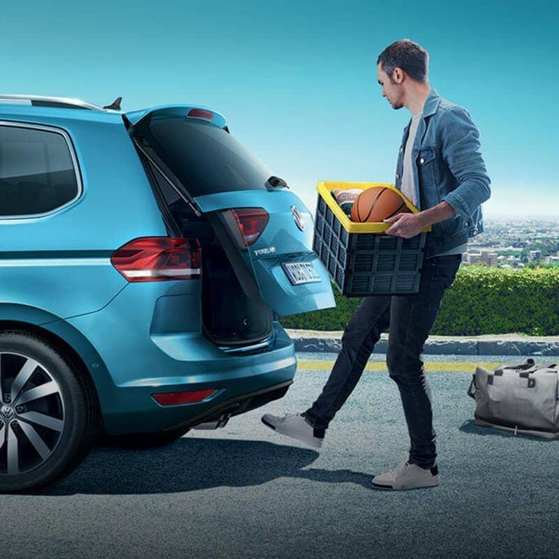 Volkswagen Nouveau Touran coffre