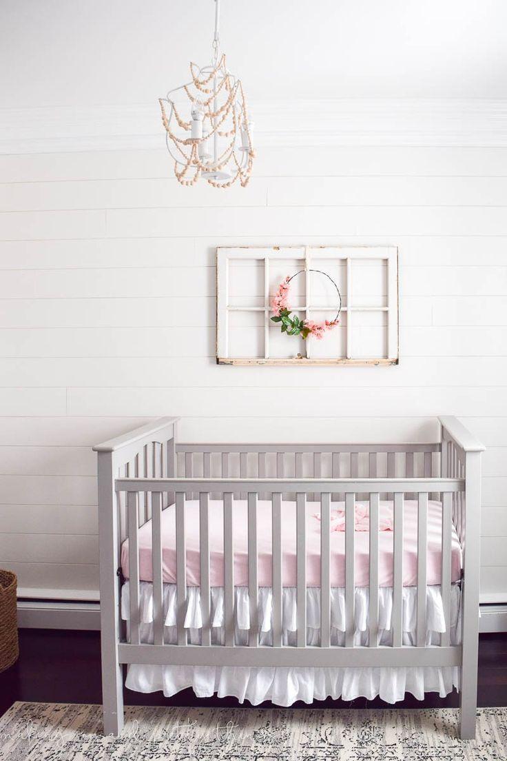 Farmhouse Girls Nursery Reveal Nursery Inspiration Girl Room