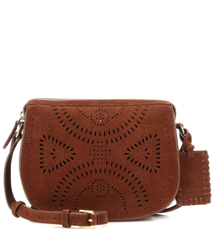 c5184f92d0f8 Polo Ralph Lauren - Suede cross-body bag - Petite and sophisticated ...