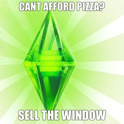 bahahah Sims <3