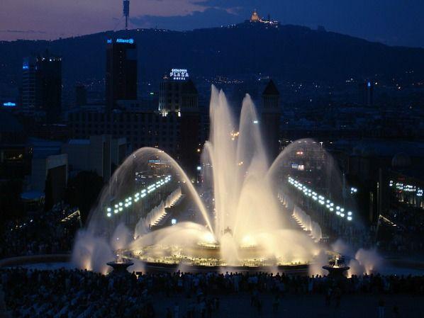 Montjuic Barcelona on a Budget #gapyear #gapyears #barcelona