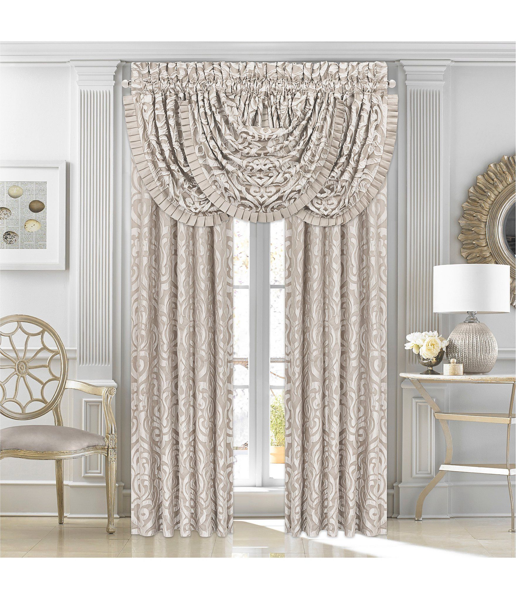 J Queen New York Astoria Sand Window Treatments Dillard S Queens New York J Queen New York Lined Curtains