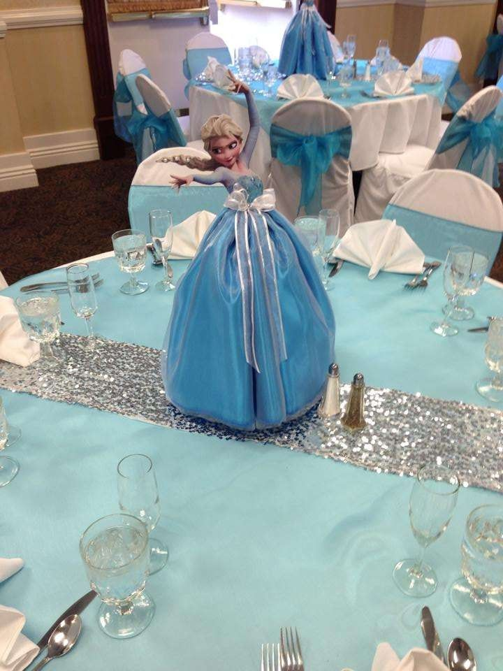 2014 halloween frozen party table ideas 2014 halloween design decors - Frozen Halloween Decorations