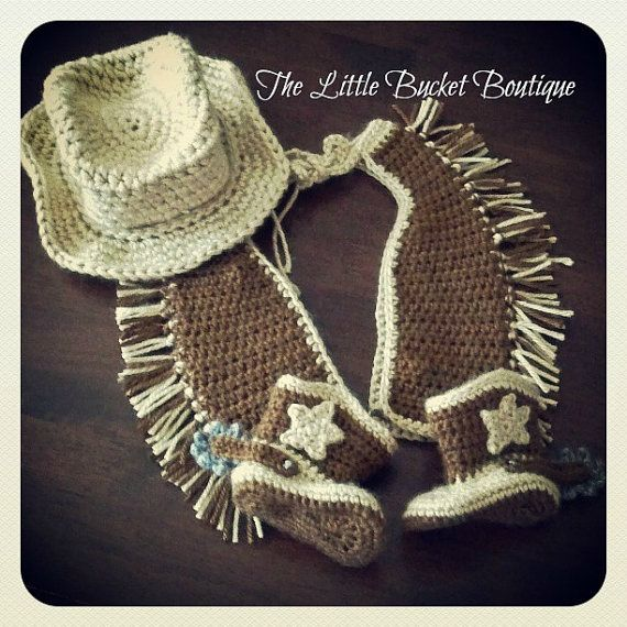 Baby Cowboy Outfit // Made To Order | Tejidos para bebé, Para bebés ...