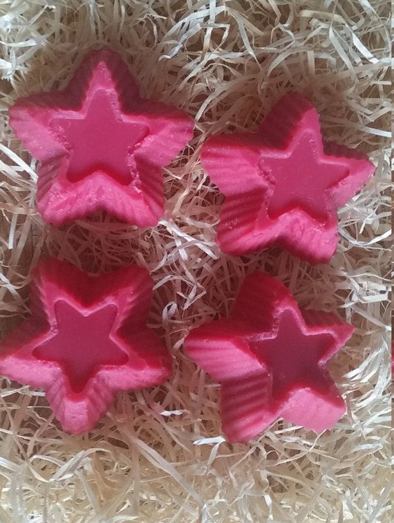 Jelly Bean Scented Star Chunky Eco Soy Wax Melts by FaeryLightsuk