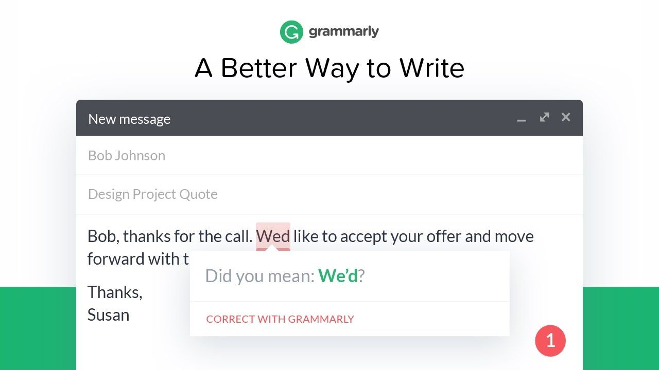 Better Writing With Grammarly Writing Skills Cool Writing The More You Know