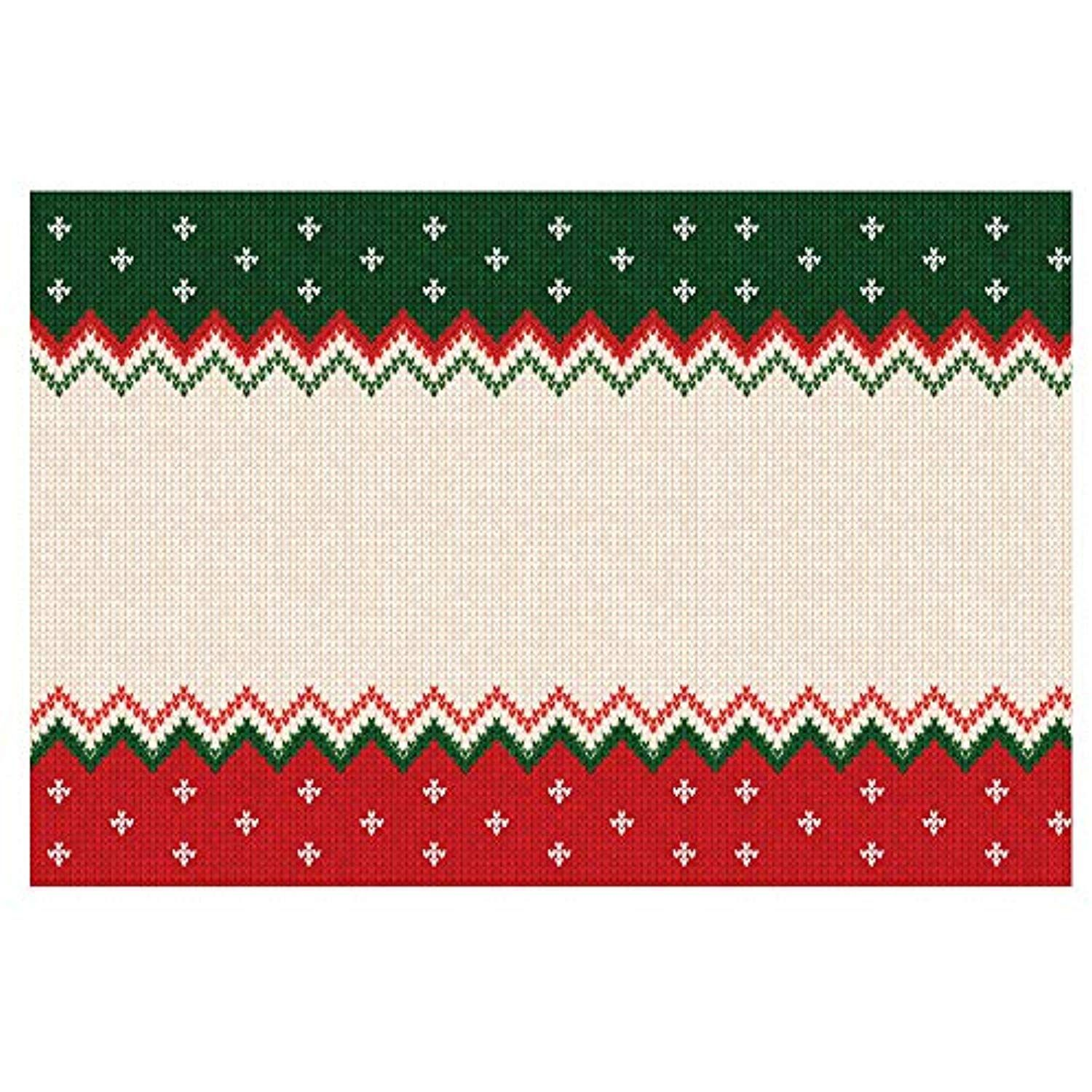 Note Card Cafe Paper Placemats 48 Count 11 X 17 Christmas Knit Sweater Find Out More About The Gr Fall Table Decor Thanksgiving Dinner Decor Placemats