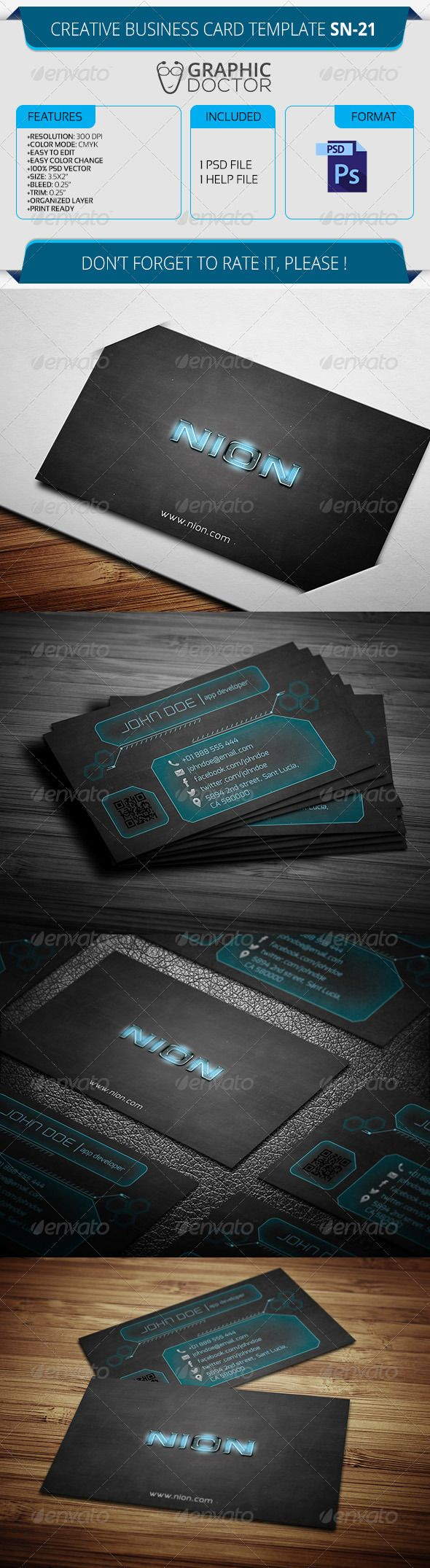 Creative Business Card Template SN Card Templates Business - 35 x2 business card template