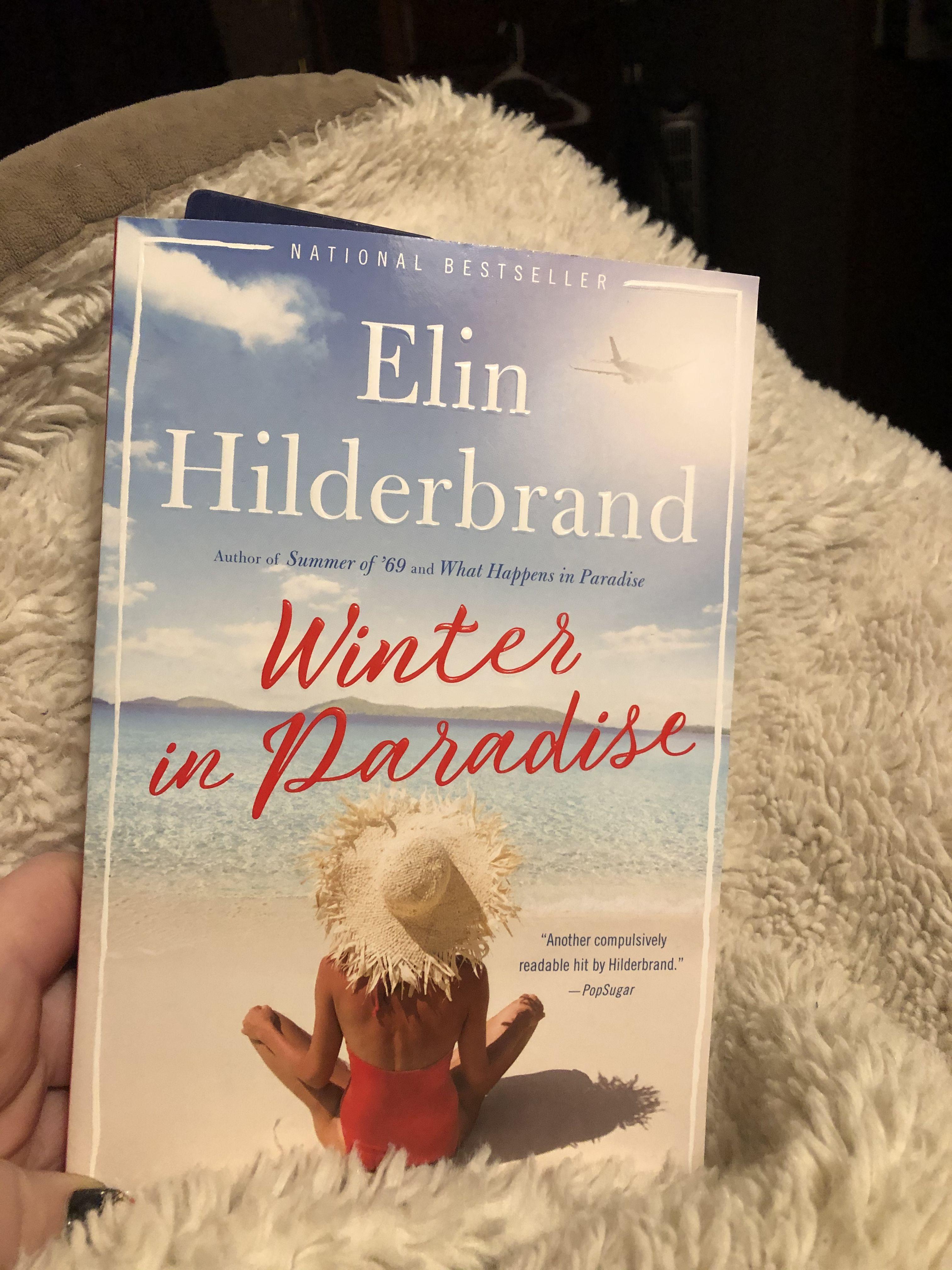 Winter in Paradise Books, Book club, Book cover