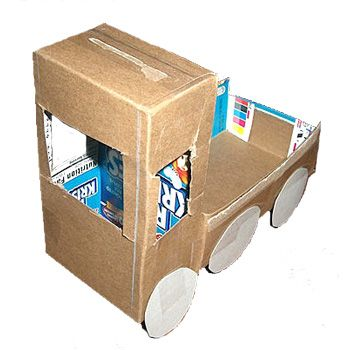 Links to cool things you can make from cardboard boxes for What type of cardboard are cereal boxes made of