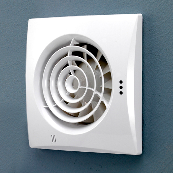 Whisper White Wall Extractor Fan Extractor Fans Shower