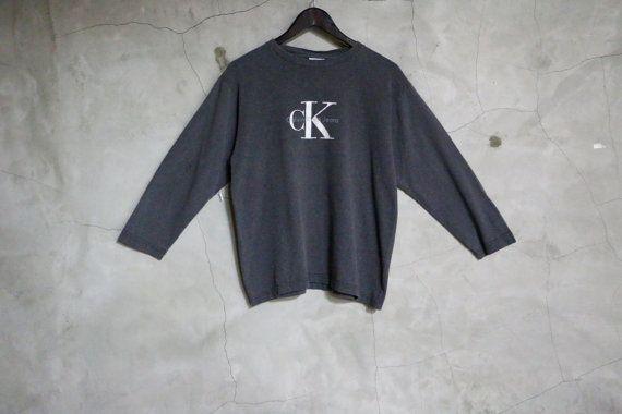 647c7223bd01 vintage t shirt Calvin Klein vintage vintage CK by imtryingtofocus ...
