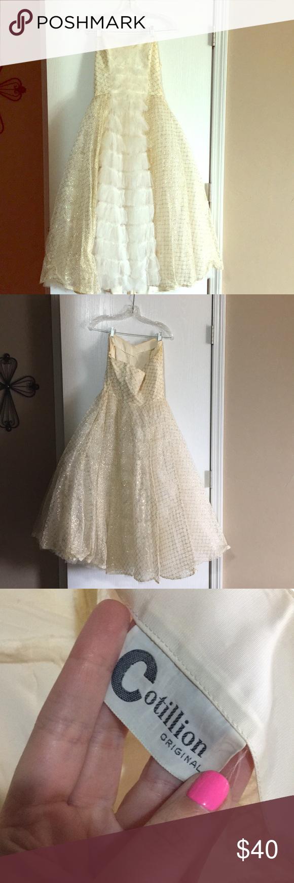 Vintage us prom dress my posh picks pinterest vintage