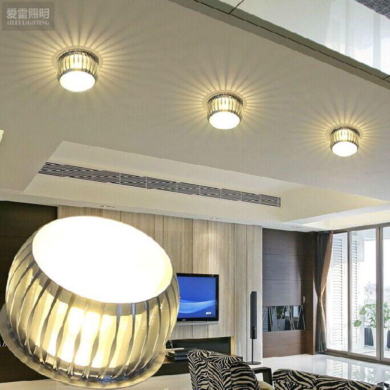 Modern Crystal Chandelier Pendant Lamp Led Lighting Small Ceiling