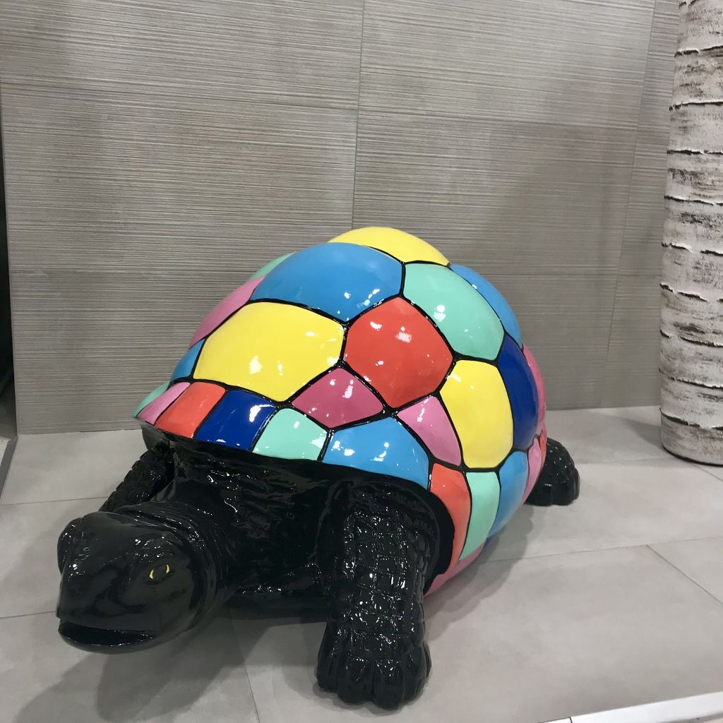 tortue en r sine animaux en r sine pour une d coration de jardin original la statut tortue. Black Bedroom Furniture Sets. Home Design Ideas