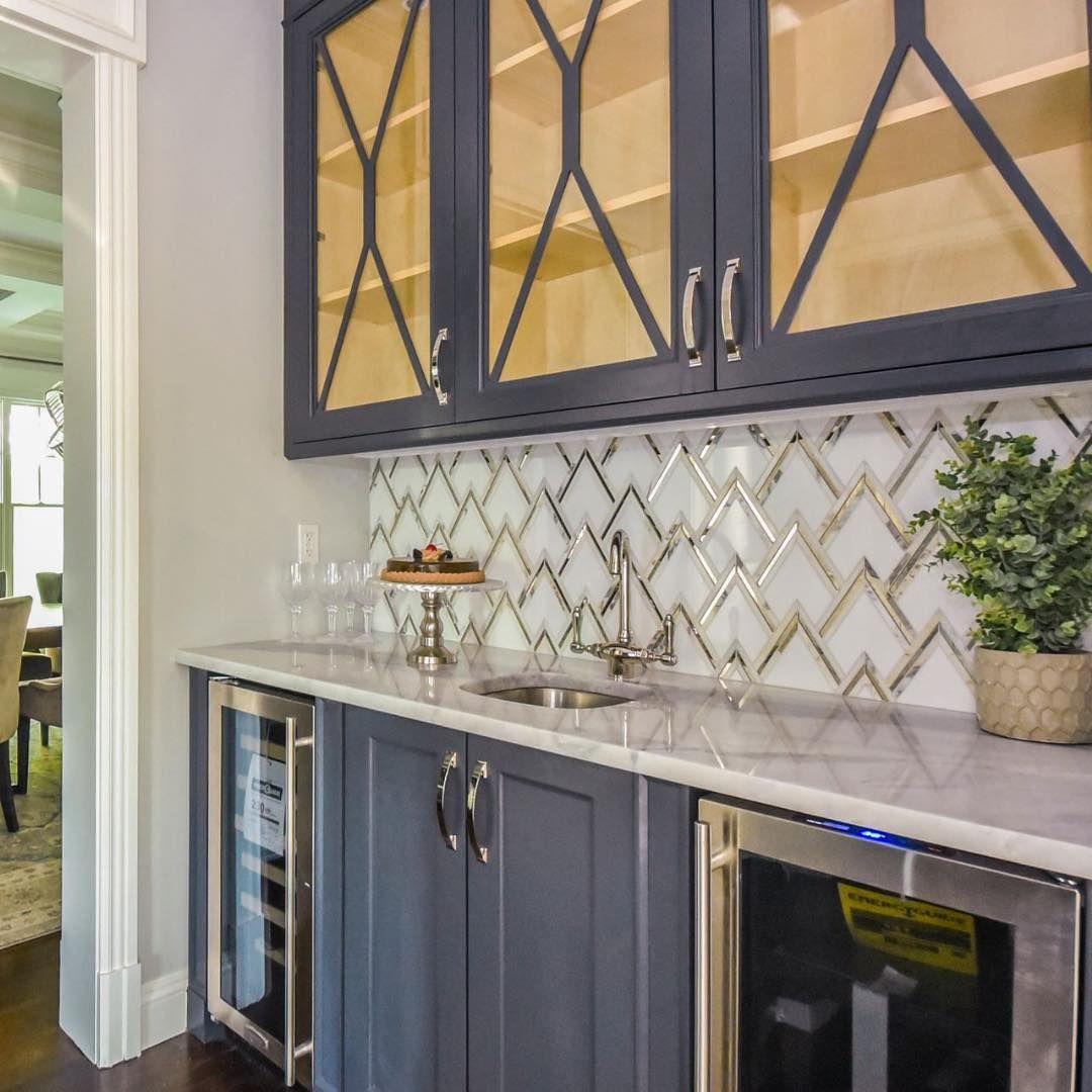 - VZAG White Gold Mosaic Tile By Vanessa Deleon In 2020 Mirror