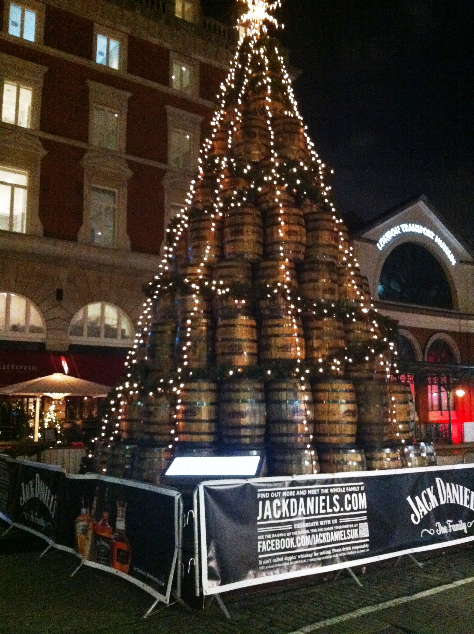 A Jack Daniels Tree