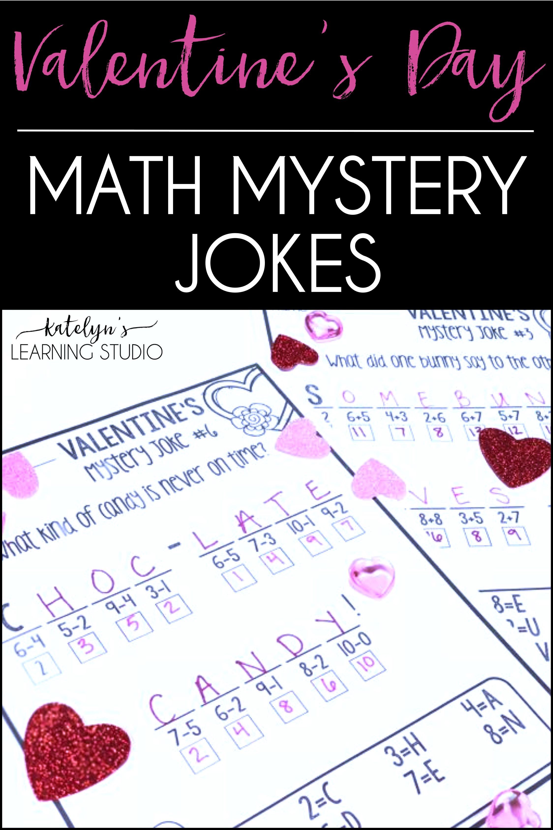 Valentines Day Math Worksheets With Images