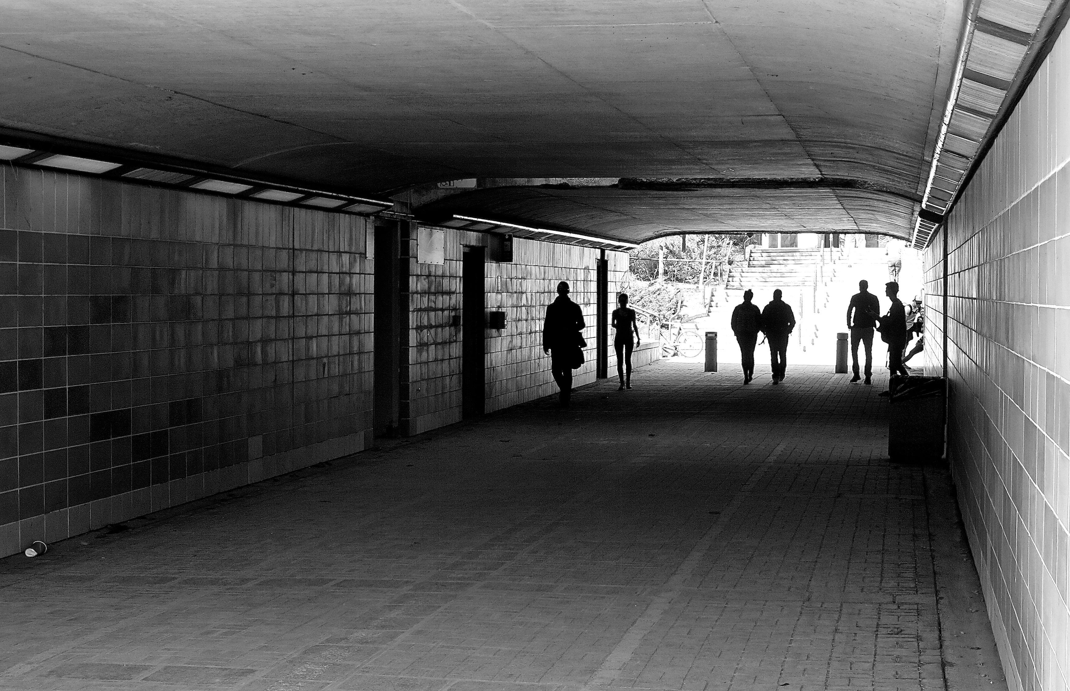 Underpass at Ottawa University