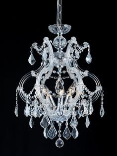 Small chandelier for over tub this will be in our - Small bathroom chandelier crystal ...