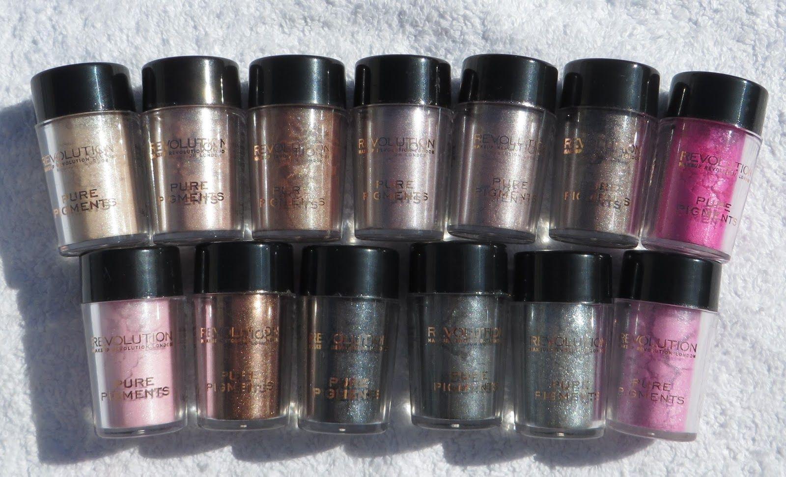 *Nina's Bargain Beauty* Makeup Revolution's Pure Pigment