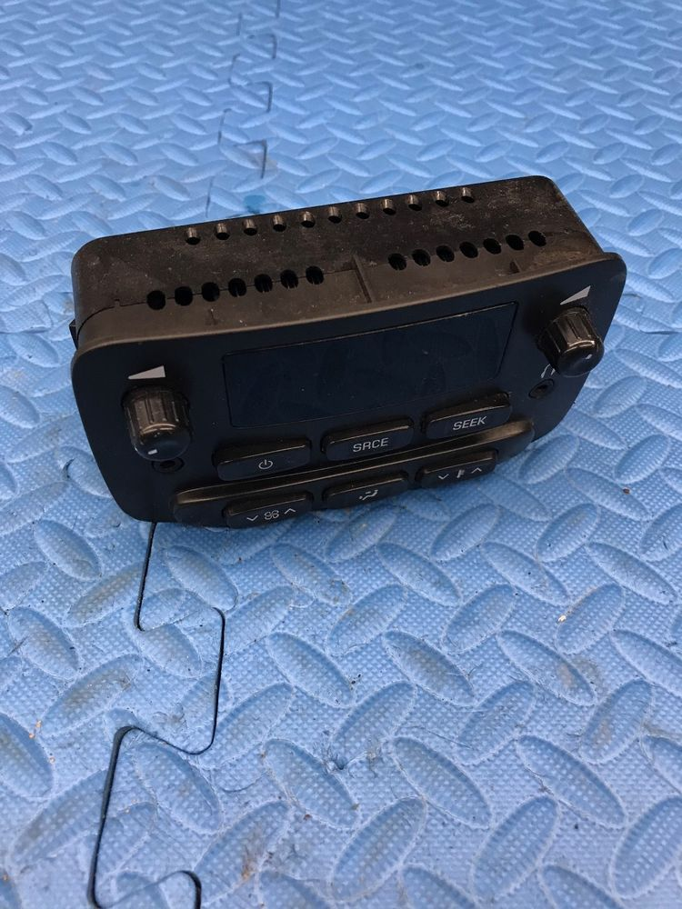 Genuine Gm Part Rear Seat Radio Audio Climate Control Unit Assembly 15166894 Gm Chevy Trailblazer Gmc Envoy Trailblazer