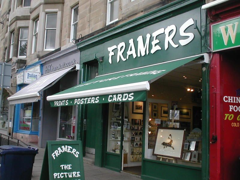 Traditional Shop Awnings Shop Front Cassette Awnings