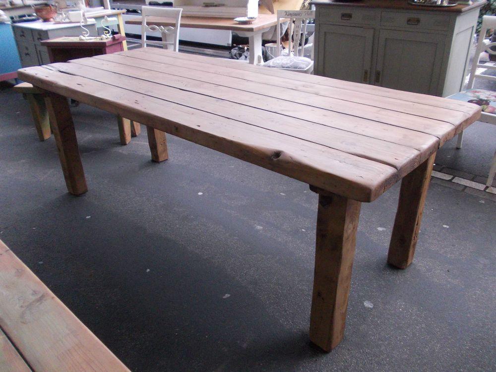 TOP Ländlich Robuste Esszimmer/Küchen Tisch Esstisch Schwer Massiv