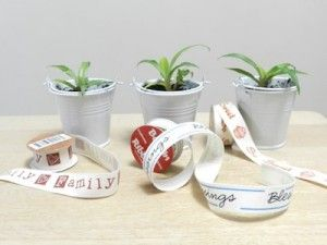 Create a Simple Inexpensive Gift with Twill Bobbin Ribbon