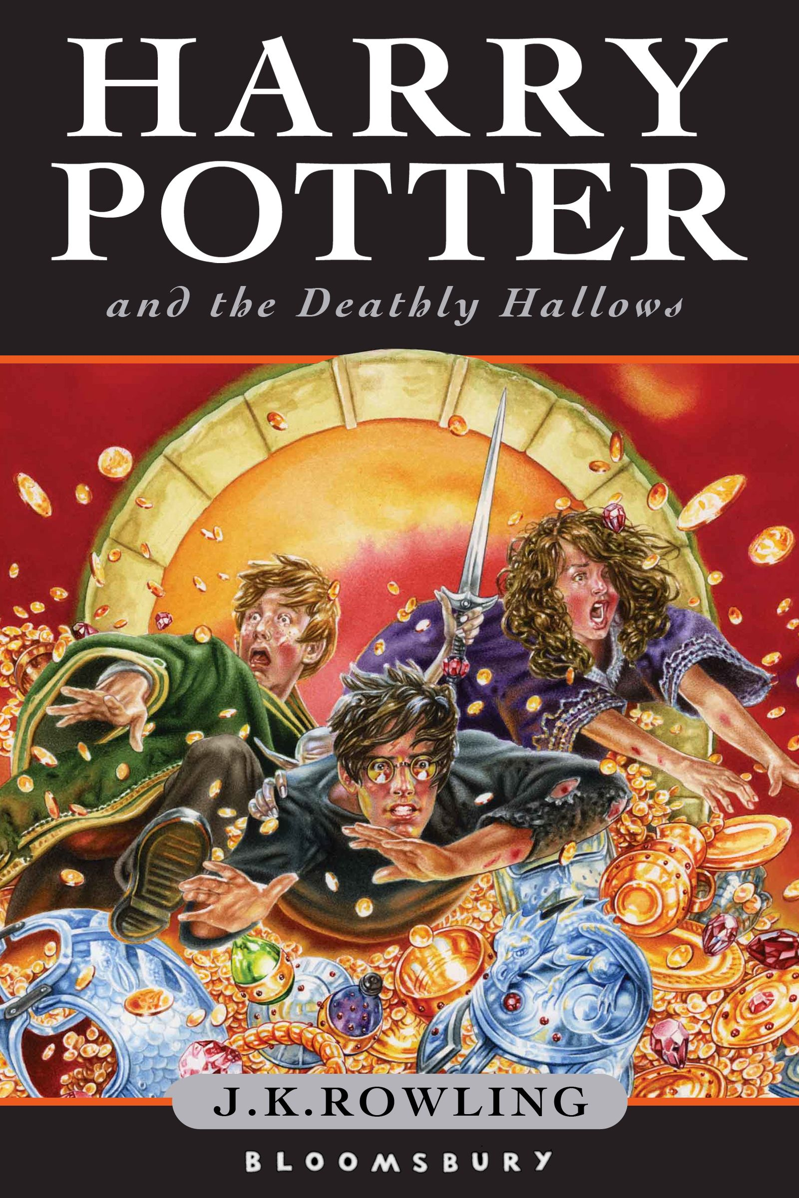 Harry Potter And The Deathly Hallows J K Rowling Brain Food