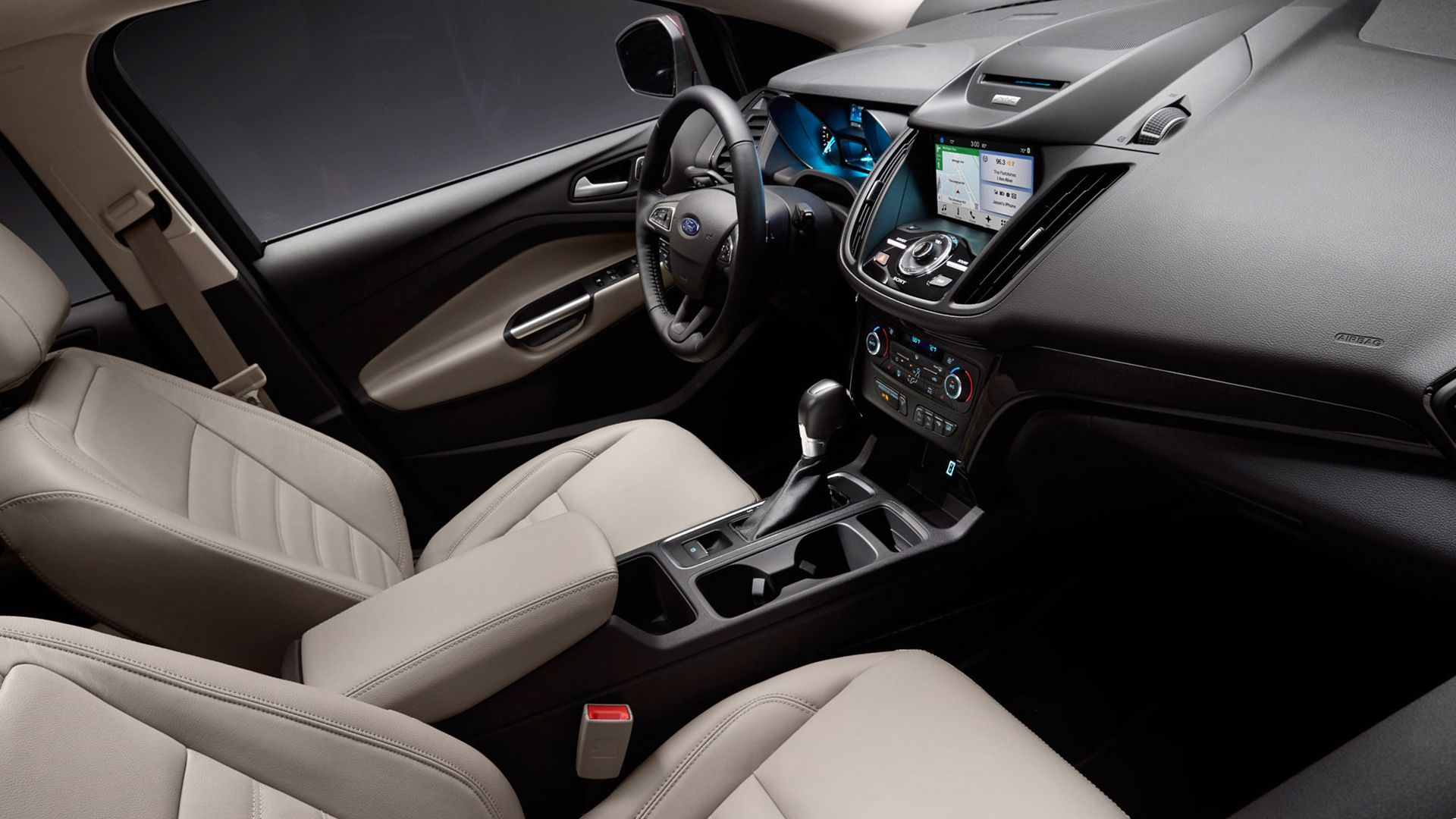 2019 Ford Kuga Interior Design