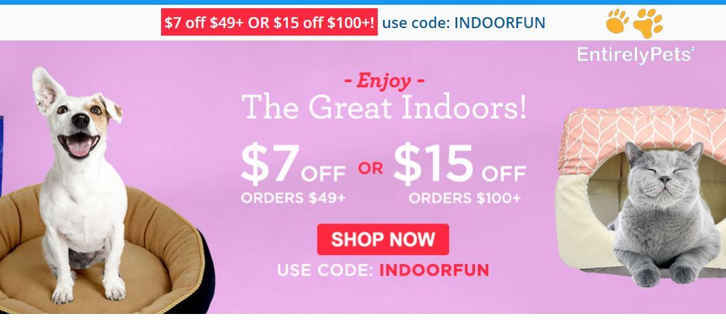Pin on Entirely Pets Coupon Codes