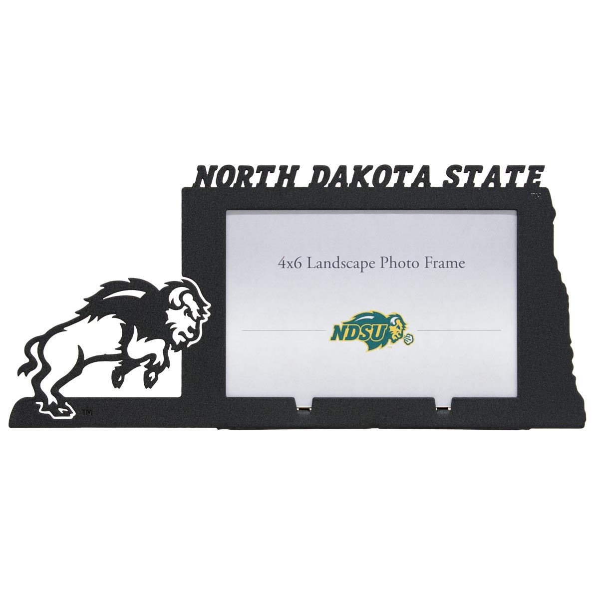 north dakota state university ndsu bison 4x6 horizontal picture