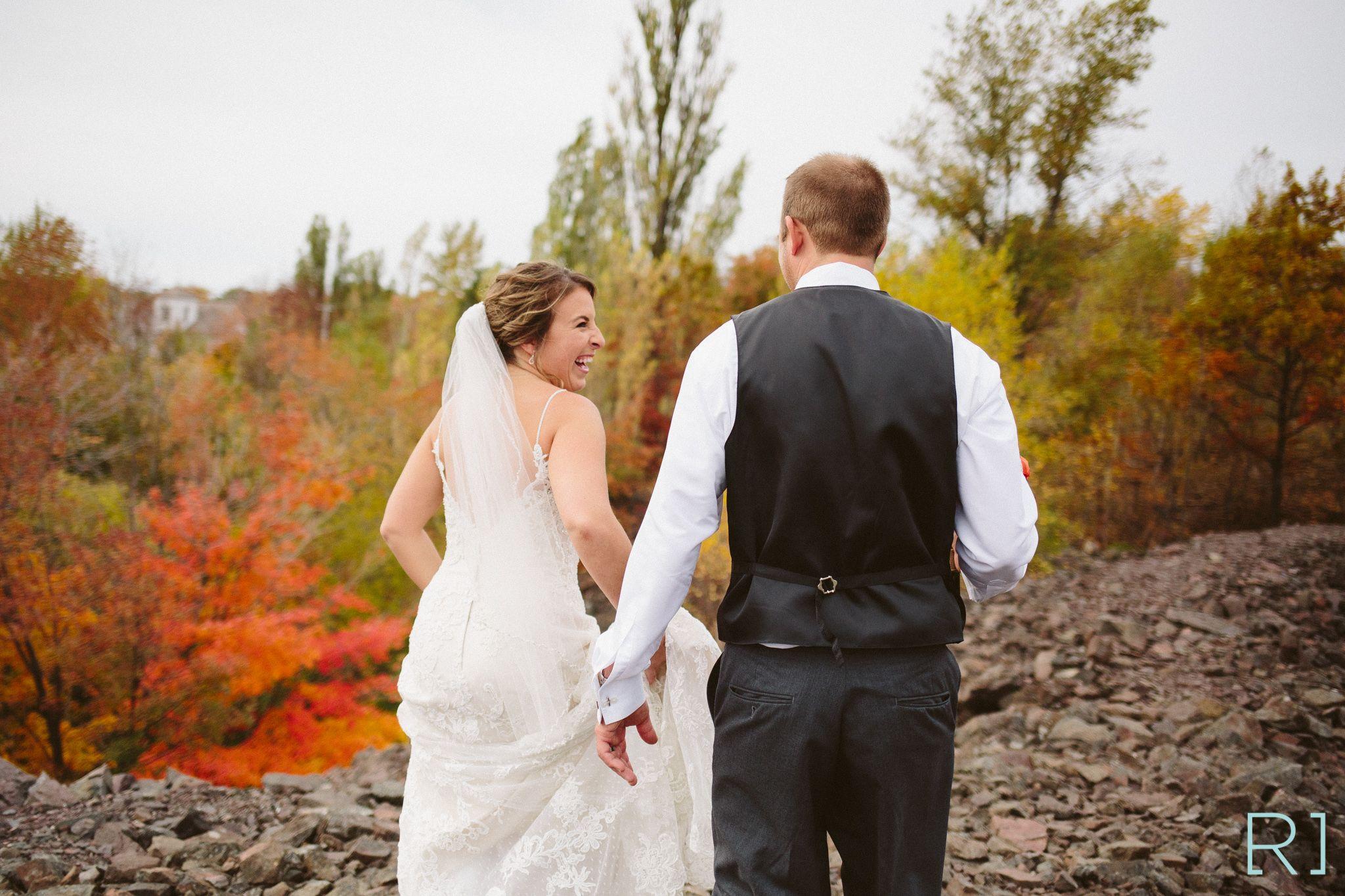 Fall Upper Peninsula Wedding Destination Photographer Riutta Images