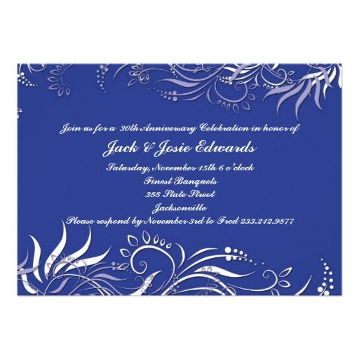 Blue Swirly Anniversary Invitation we are given they also recommend where is the best to buyReview          Blue Swirly Anniversary Invitation Here a great deal...