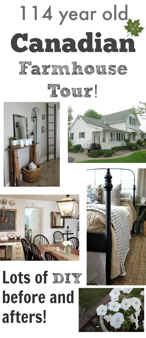 Canadian Farm House Home Tour (The Creek Line House) | weiße ...