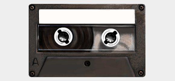 Discover Card Cassette Tape Design